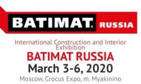 Rusya/Moskova BATIMAT Uluslararası Yapı & İnşaat Fuarı 03-06 Mart 2020