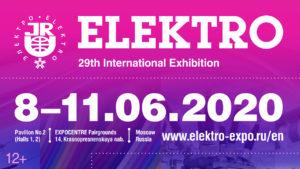 Rusya/Moskova ELEKTRO  29. Uluslararası Elektrik ve Aydınlatma Fuarı 8/11 Haziran 2020